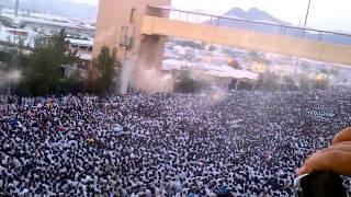 ازدحام حجاج بيت الله الحرام في عرفات 1433هـ - 2012م