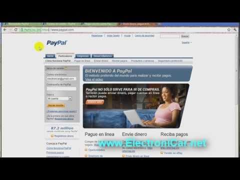 Como pagar con Tarjeta de Credito a través de Paypal