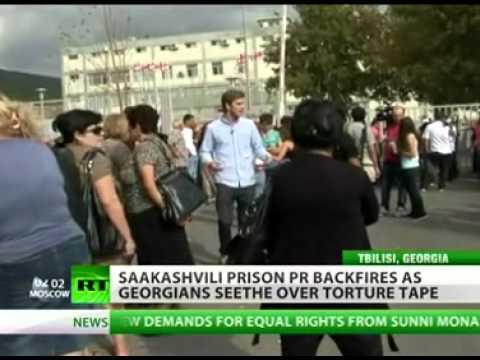 President Saakashvili's enemies tortured in Tbilisi jail