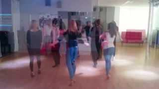 KikoChristina dance projects - Sensual Movements Bachata only ladies 28.03.15
