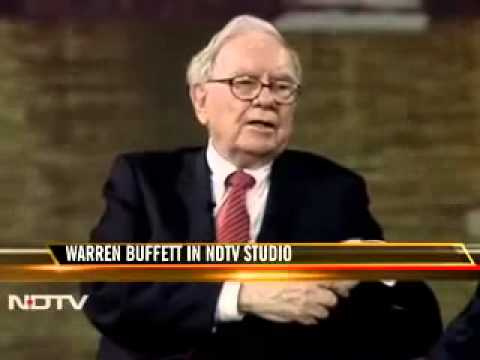 WARREN BUFFETT INTERVIEW FROM INDIA MUST WATCH