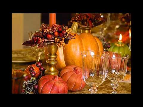 Good Table decorating ideas for thanksgiving
