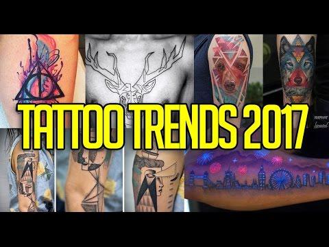 TOP 10 TATTOO TRENDS 2017 | TRENDING | BARTMANN