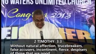 Weightier Matters 2 - Reverend ladi Thompson