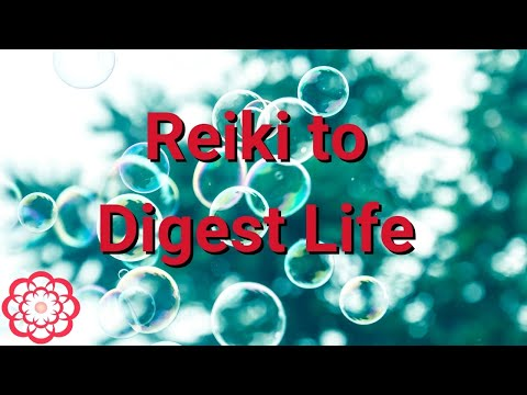 reiki to digest life/energy healing  youtube
