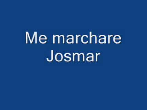 Descargar MP3 Josmar me marchare