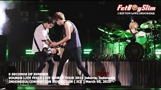 5 SOS - END UP HERE/ VOODOO DOLL live in BSD CITY, 2016 Jakarta Indonesia 5 SECONDS OF SUMMER