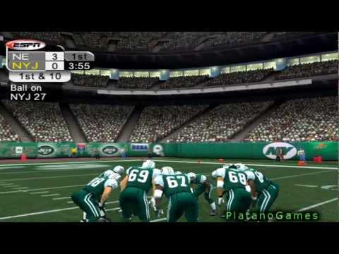 NFL 2012 TNF Week 12 - New England Patriots (7-3) vs New York Jets (4-6) - 1st Half - NFL 2k5 - HD