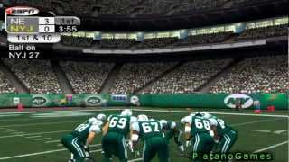 NFL 2012 TNF Week 12 - New England Patriots (7-3) vs New York Jets (4-6) - 1st Half - NFL 2k5 - HD