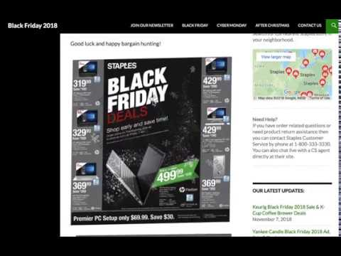 Staples Black Friday Ad, Store Hours Today