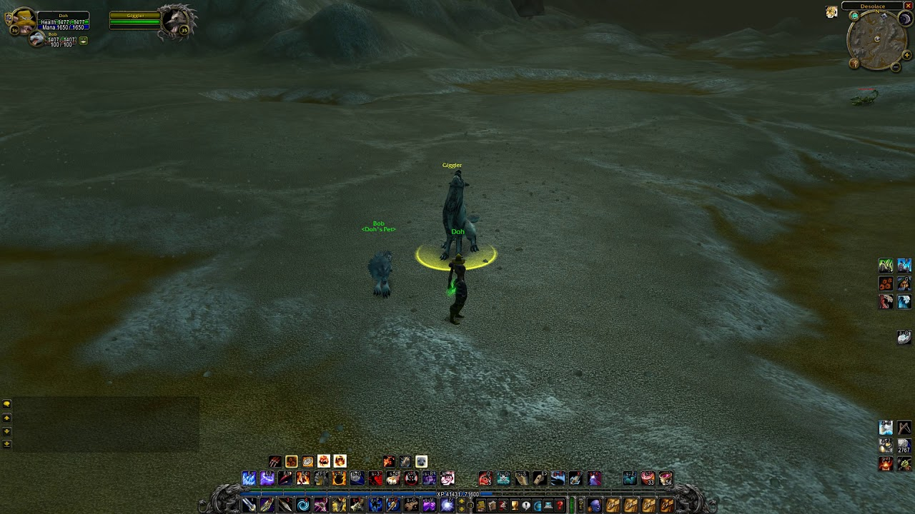 Giggler Rare Desolace Wow Classic Youtube
