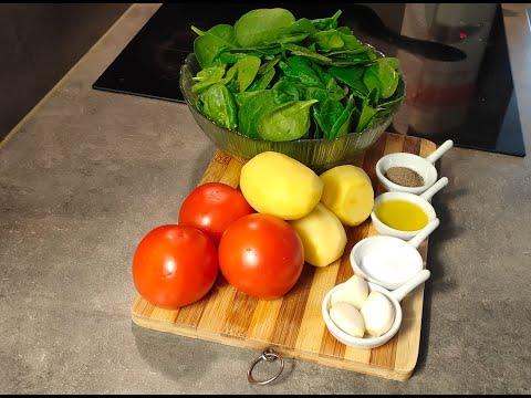 les-épinards-à-la-sauce-tomate-سبانخ-بصلصة-الطماطم