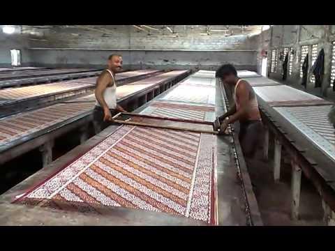 Saree printing jetpur