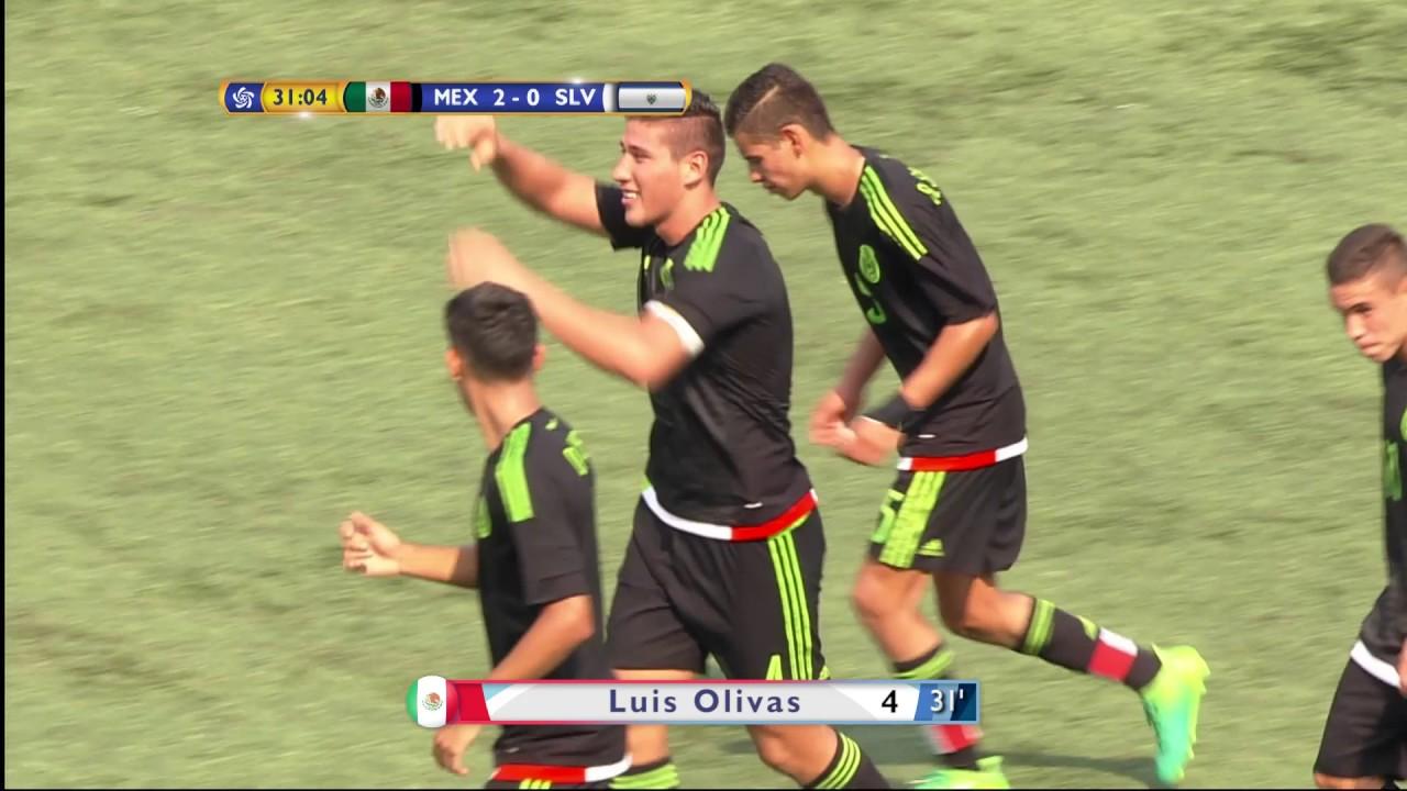 Cupan Mexico Vs El Salvador Highlights Youtube