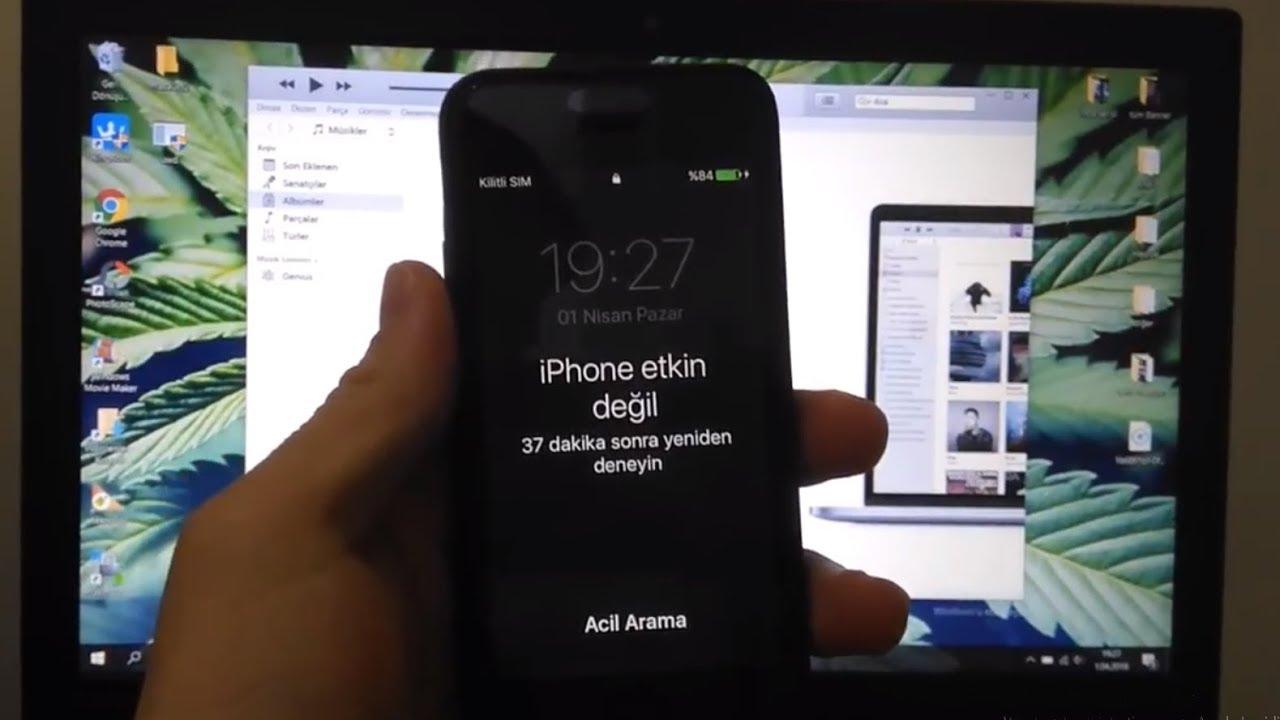 Iphone 6 Plus yazılım güncelleme parolası