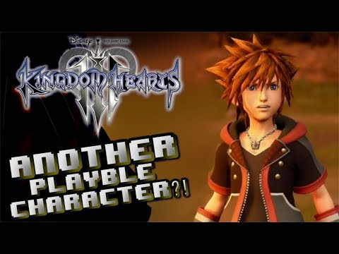 ANOTHER PLAYABLE CHARACTER CONFIRMED FOR KINGDOM HEARTS 3?