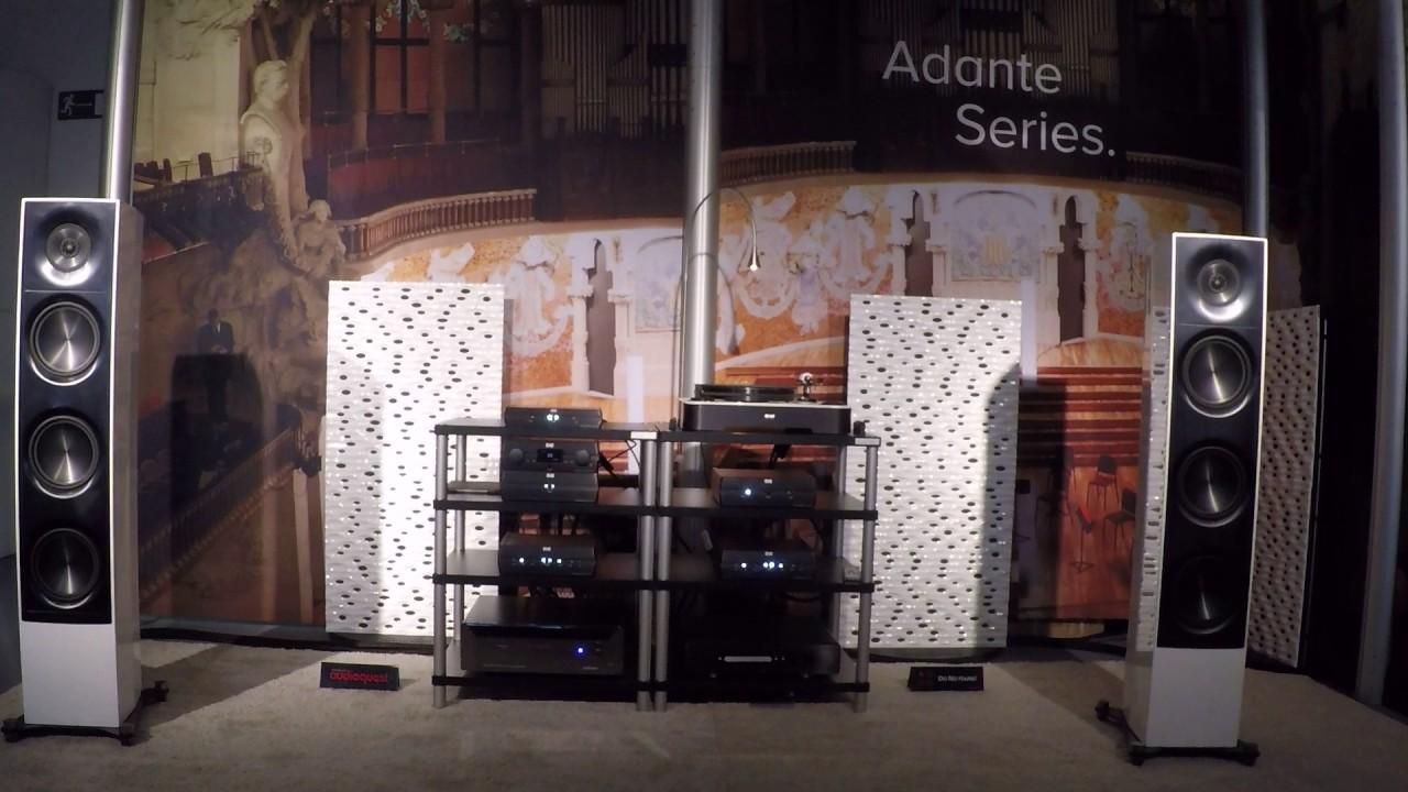 ELAC Adante AF-61 Floorstanding Speakers at LA Audio Show 2017 - AVS