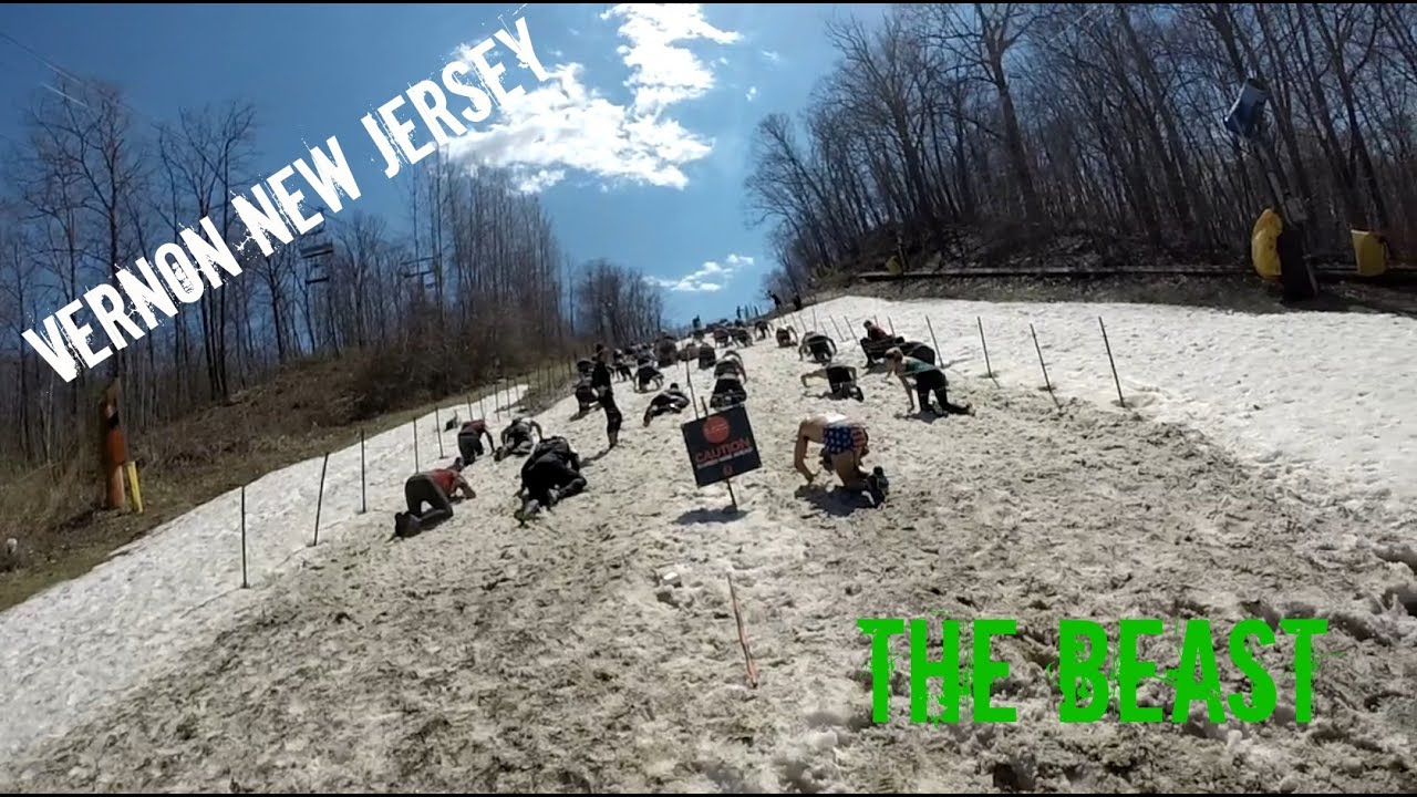 spartan race beast mountain creek vernon nj - youtube