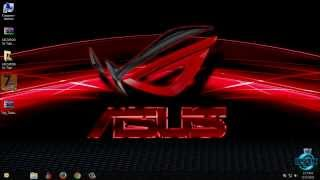 ASUS ROG Windows 7 Theme by Tiger, Vignoi, & gsw953