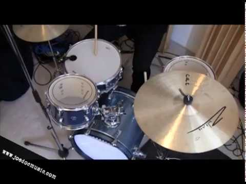 Recording Drums in an Apartment! Ludwig Breakbeats Kit Tuning / Andy Johns Method