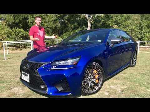Lexus GS F Review & Test Drive | Don't Sleep On The V8!