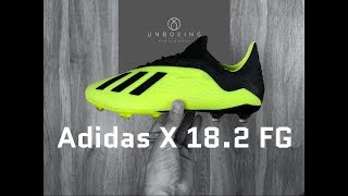 2dc9a04d Adidas X 18.2 FG 'Team Mode Pack' | UNBOXING | football boots | 2018 ...