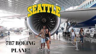 FIRST TIME ON 747 PLANE| MUSEUM OF FLIGHTS SEATTLE