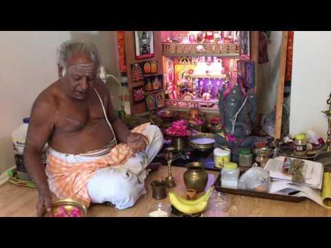 Rudrabhishekam mantras in telugu