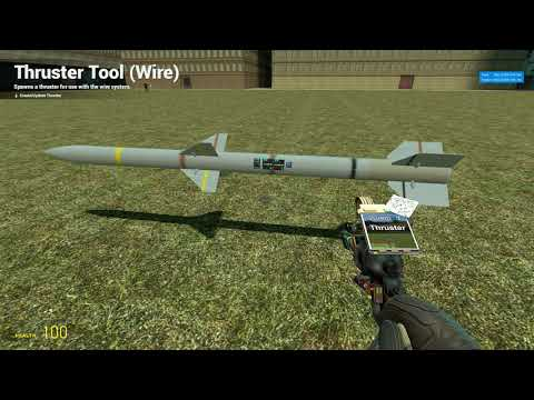 3# Gmod How 2 Make a simple wire guided missile