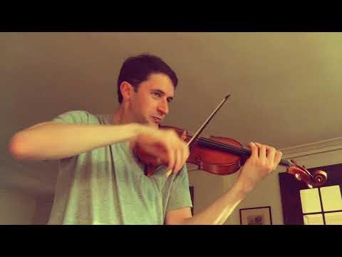 Noah Bendix-Balgley | Beethoven Violin Concerto | 3rd Mvt Cadenza