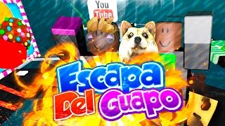 ESCAPE THE GUAPO DE NACHO ? OBBY ROBLOX WITH WHITEZUNDER AND ELYAS