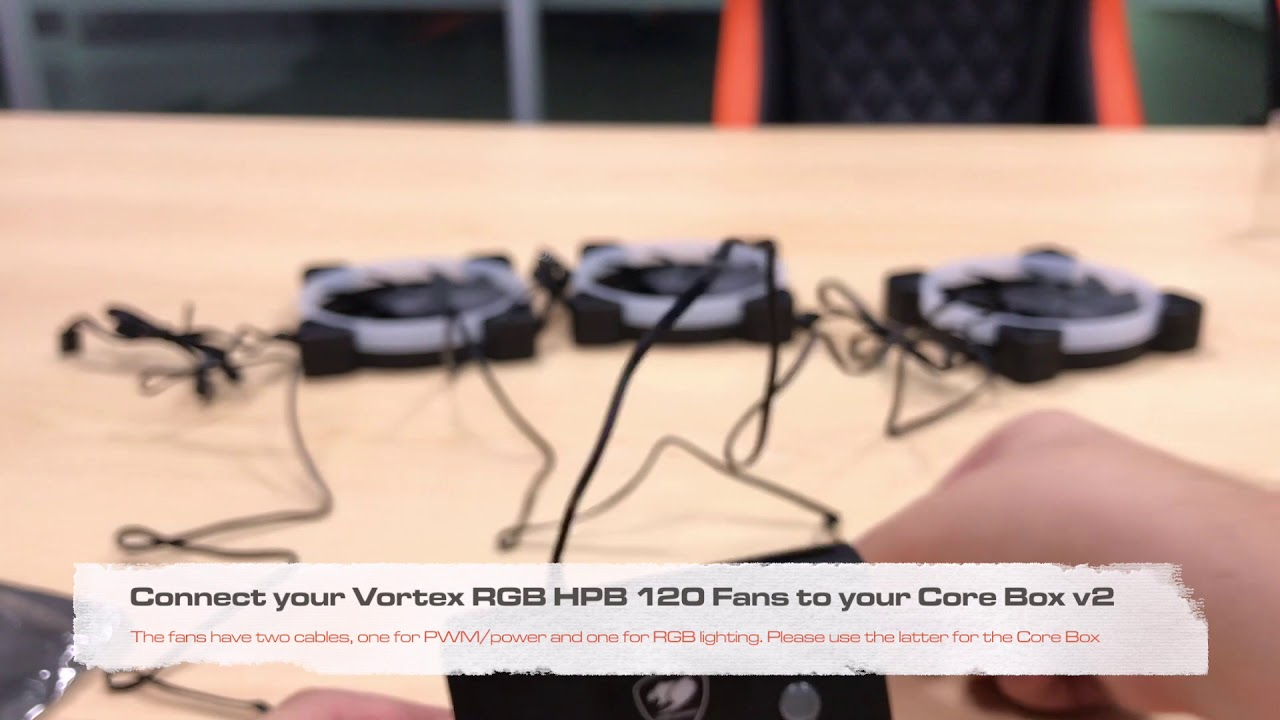 Vortex RGB HPB 120 Cooling Kit: RGB Lighting Installation