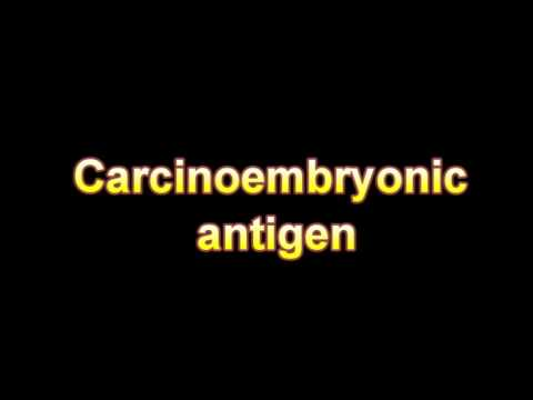 What Is The Definition Of Carcinoembryonic antigen Medical Dictionary Free Online