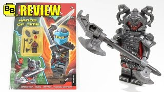 LEGO NINJAGO HANDS OF TIME ACTIVITY BOOK VERMILLION MINIFIGURE REVIEW