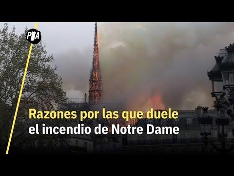 Por estas razones duele el incendio de Notre Dame