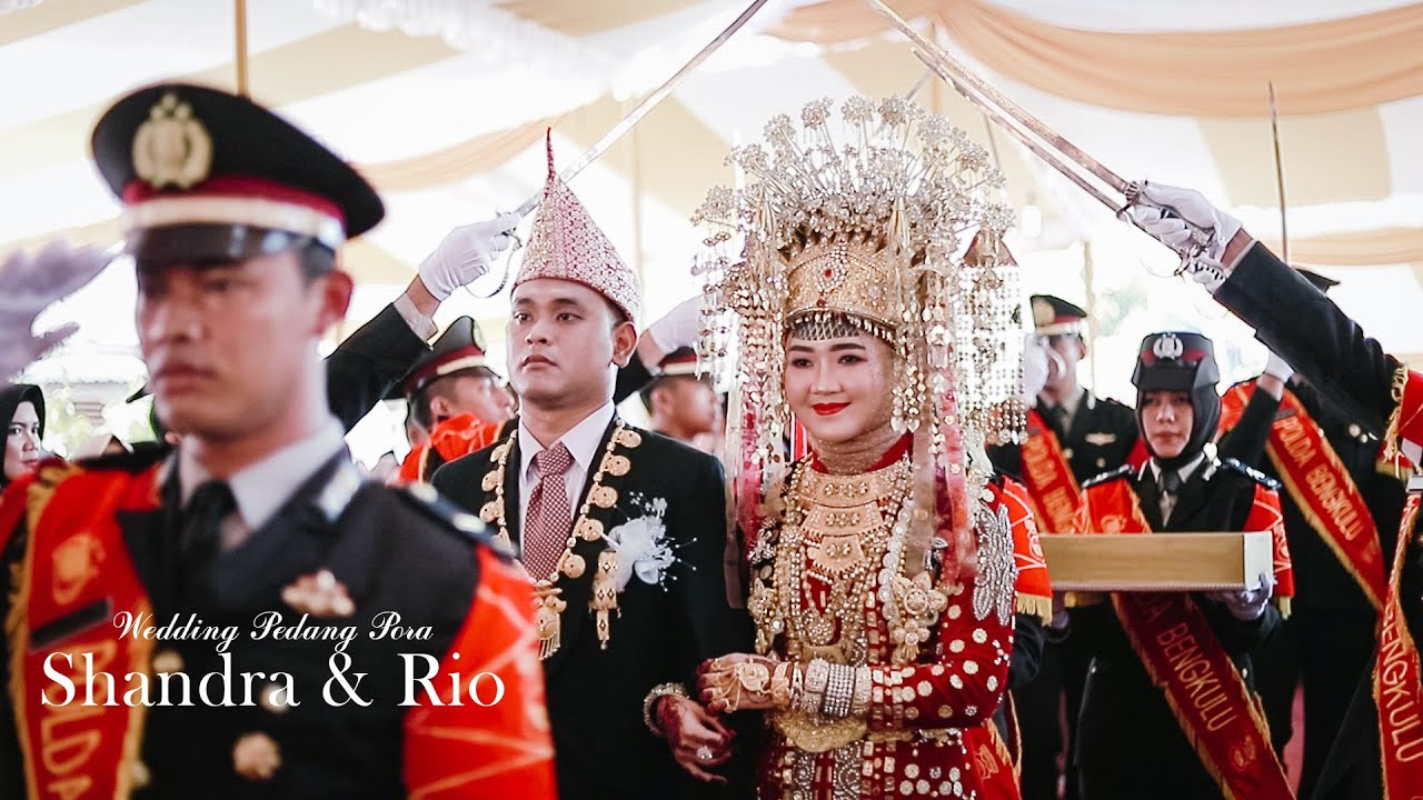 Cinematic Wedding Pedang Pora Polri Ipda Shandra Dr Rio Aesthetic Studio Youtube