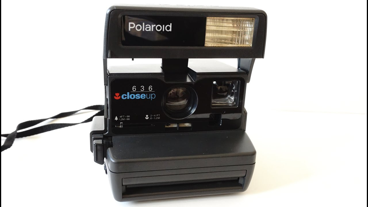 polaroid 636 close up tested with dead film youtube. Black Bedroom Furniture Sets. Home Design Ideas
