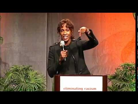 Jackie Joyner-Kersee speaks at theYWCA Annual Lunch 2012