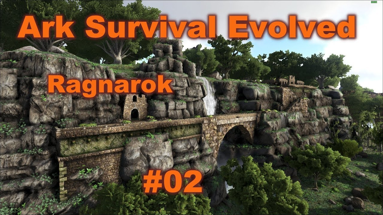Ark Survival Evolved Ragnarok 02 Wir Bauen Ein Haus Youtube