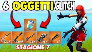 HOW TO HAVE 6 OBJECTS IN THE FORTNITE FORTNITE SEASON 7 GLITCH