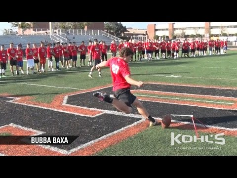 Bubba Baxa | #5 Ranked Kicker in America | Class of 2018