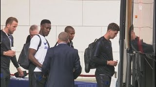 England team leave for the World Cup in Russia | ITV News
