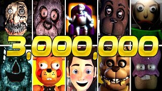 World of Jumpscares 3,000,000 SUBSCRIBERS