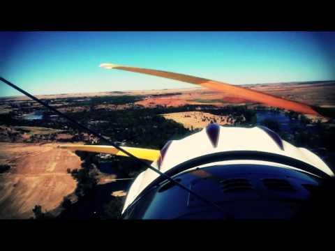 Biplane Over Parys