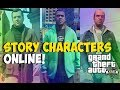 """GTA 5 - """"SINGLE TO MULTIPLAYER GLITCH"""" Play as Story Mode Characters ONLINE! """"SP TO MP"""" 1.12 (GTA 5)"""