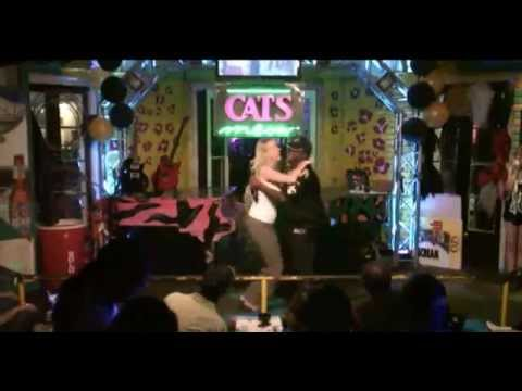Sheri Gets Rowdy with MC Tracy B @ Cats Meow Karaoke