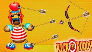 АНТИСТРЕСС ПРОТИВ ИГР! Уничтожь любым способом - Kick the Buddy