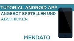 Tutorial Android App: Angebote erstellen und abschicken