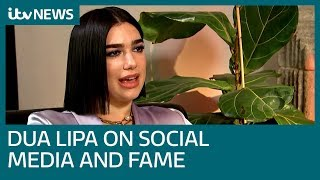 Full interview: Dua Lipa on social media's dark side and 'looking after each other' | ITV News