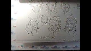 Eureka 7 character setting, by Takamura Store
